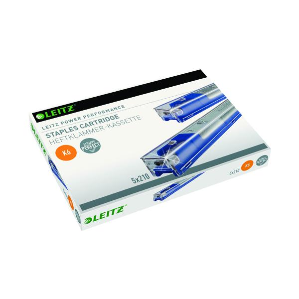 Leitz Blue K6 Staple Cartridge (5 Pack) 55910000