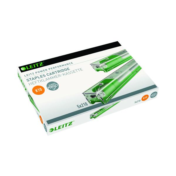 Cartridge/Cassette Leitz Green Heavy Duty Staple Cartridge (5 Pack) 55930000