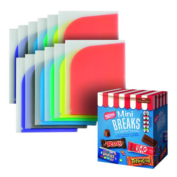 A4 Tarifold 8 Flap Folders (6 Pack) Buy 2 Packs FOC Mini Breaks