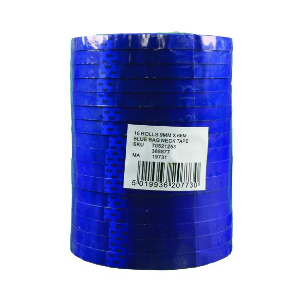 9mm Polypropylene Tape 9mmx66m Blue (16 Pack) 70521253
