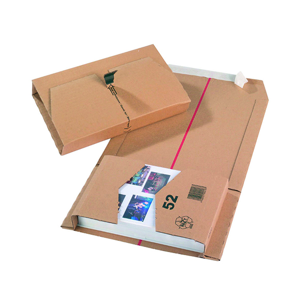 Mailing Box 270x190x80mm Brown (20 Pack) 11210
