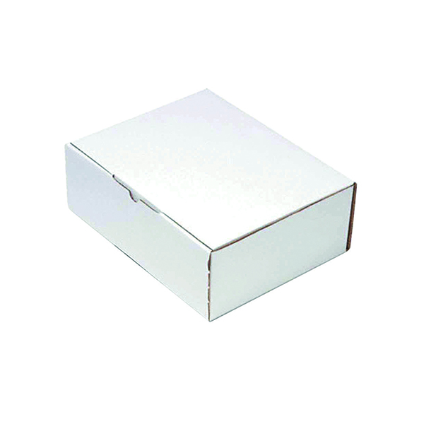 Mailing Box 260x175mm White (25 Pack) PPAK-KING09-D