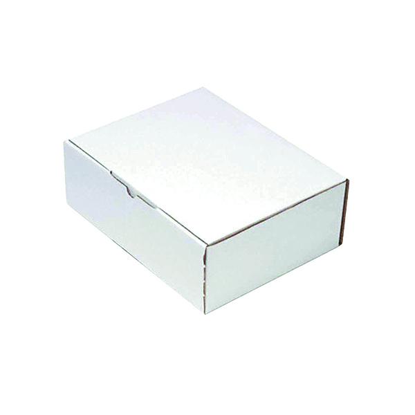 Mailing Box 375x225mm White (25 Pack) PPAK-KING09-E