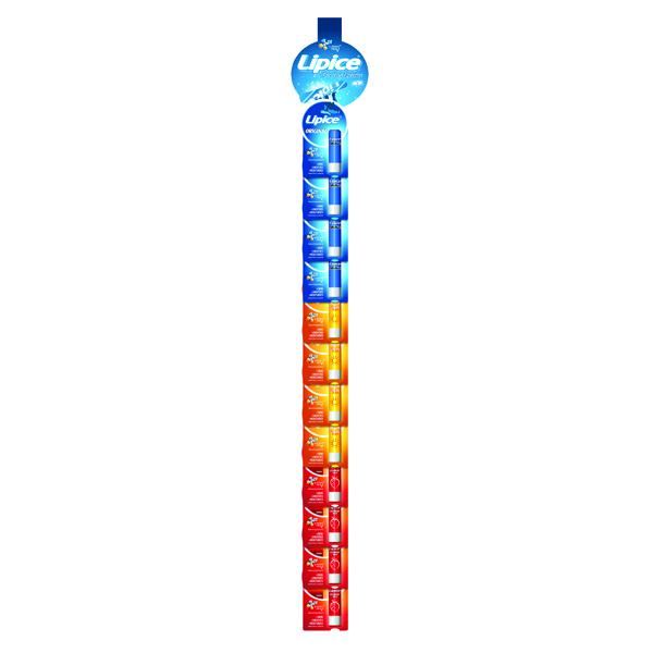 Lipice Lip Balm Mix Clipstrip (24 Pack) LLCS01
