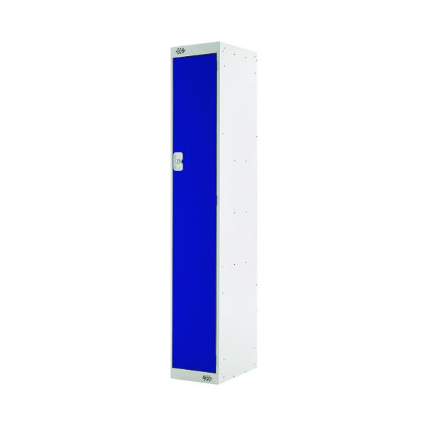 Single Compartment Locker D300mm Blue Door MC00001