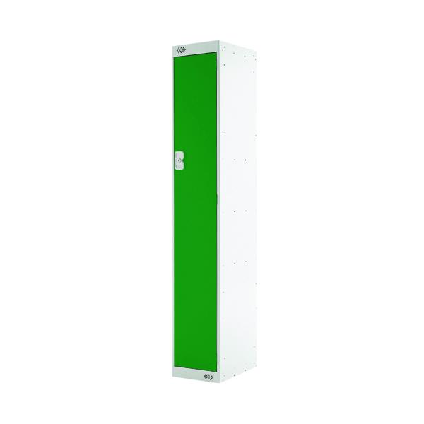 Single Compartment Locker D300mm Green Door MC00004