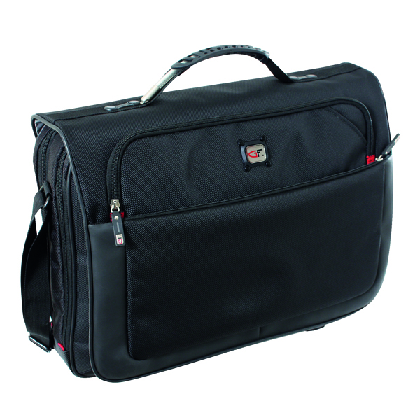 Briefcases & Luggage Gino Ferrari Titan Messenger Bag Black GF521