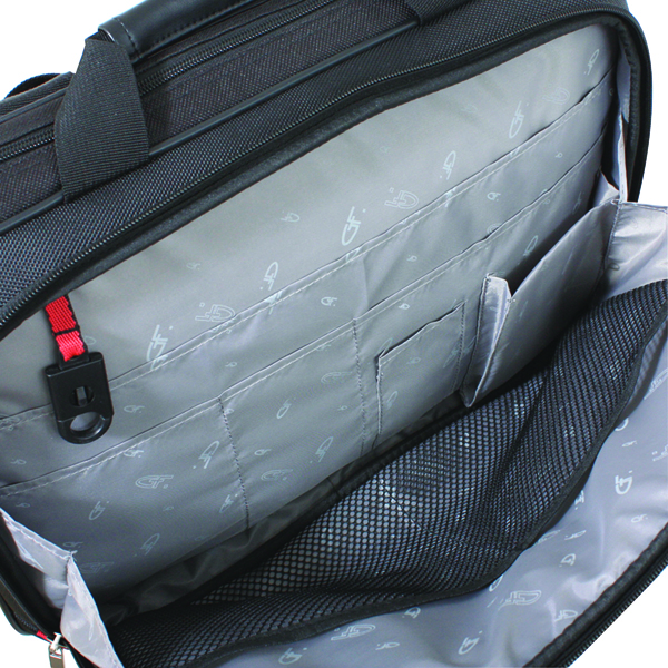 Briefcases & Luggage Gino Ferrari Helios Business Bag 16in Black GF542