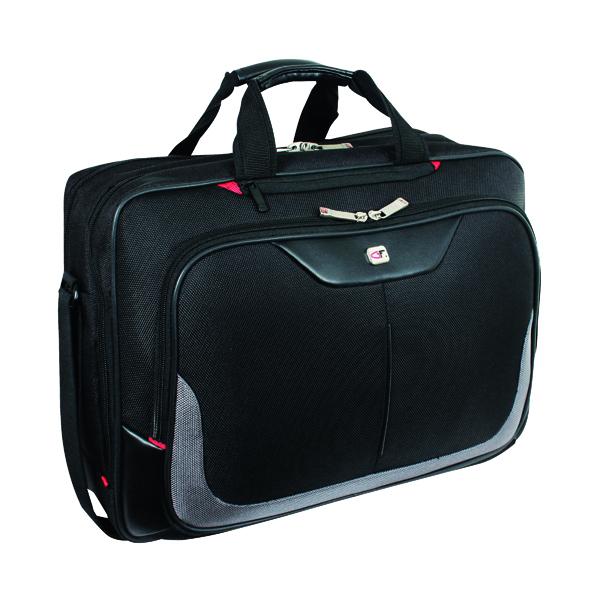 Gino Ferrari Enza Laptop Business Bag Black GF543