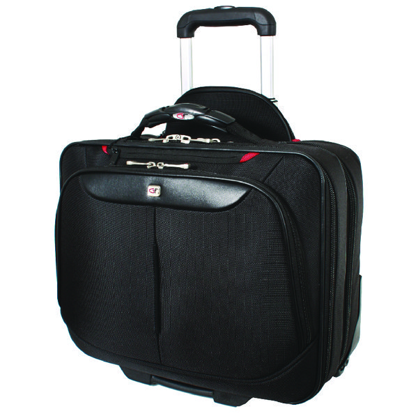 Briefcases & Luggage Gino Ferrari Brooklyn Wheeled Laptop Case Black GF565