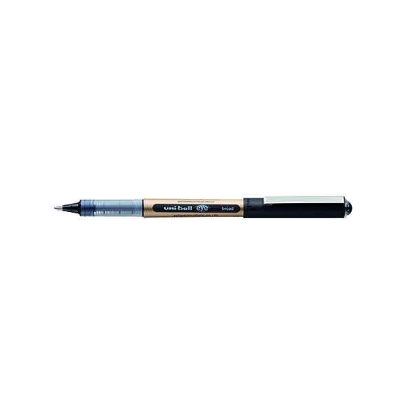 Black Uni-Ball UB-150-10 Rollerball Pen Fine Black (12 Pack) 246959000