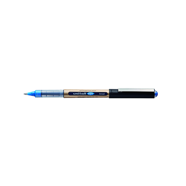 Black Uni-Ball UB-150-10 Rollerball Pen Fine Blue (12 Pack) 246967000
