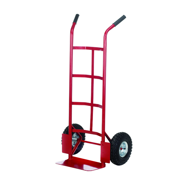 Sack Pneumatic Tyre Sack Truck Red PTST