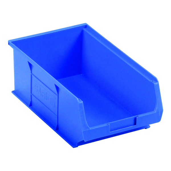 Containers Barton Blue Small Parts Container 9.8 Litre (10 Pack) 10041
