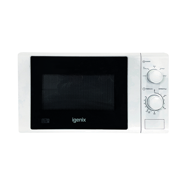 Igenix 20 Litre 700w Manual Microwave White IG2071