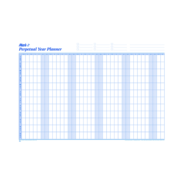 Year Mark-it Perpetual Year Planner PYP