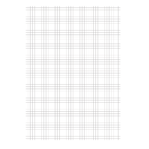 Unspecified Loose Leaf Paper A4 Quad Ruled (2500 Pack) 100102082
