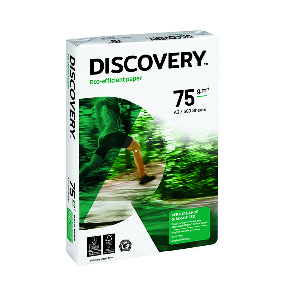 Discovery A3 White Paper 75gsm (500 Pack) 59911