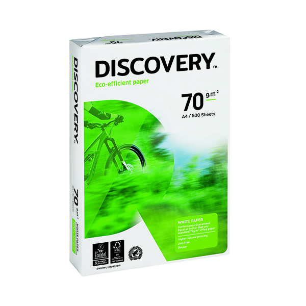 Discovery A4 White Paper 70gsm (2500 Pack) 59912