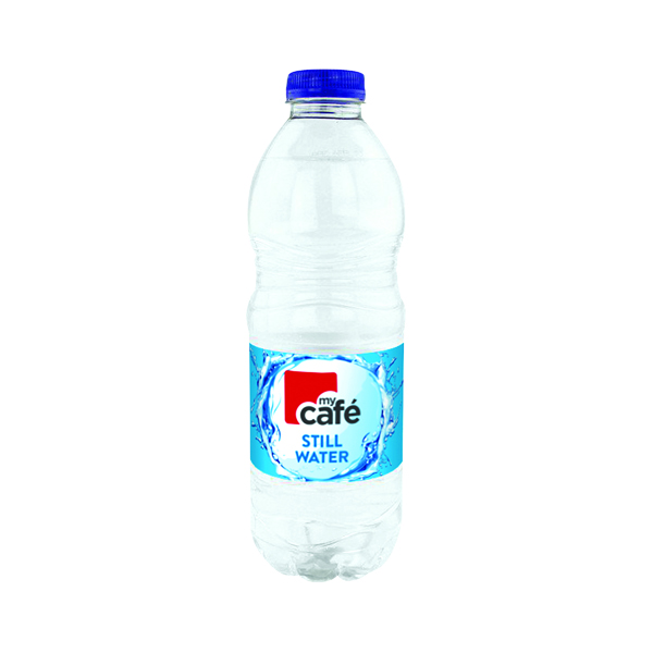 Cold Drinks MyCafe Still Water 500ml Bottle (24 Pack) 0201030