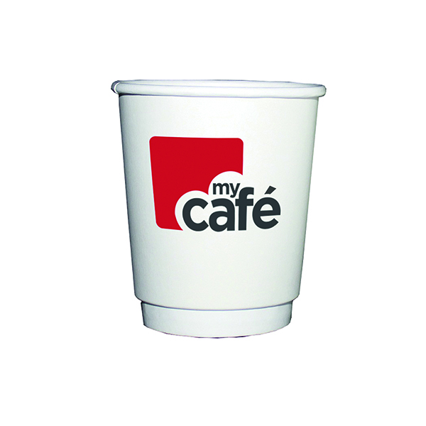 MyCafe 8oz Double Wall Hot Cups (500 Pack) HVDWPA08V