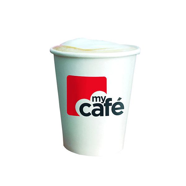 MyCafe 8oz Single Wall Hot Cups (50 Pack) HVSWPA08V