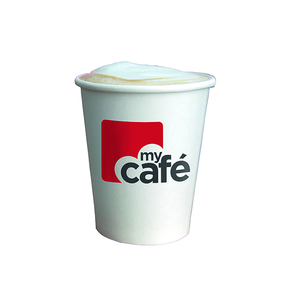 MyCafe 12oz Single Wall Hot Cups (50 Pack) HVSWPA12V