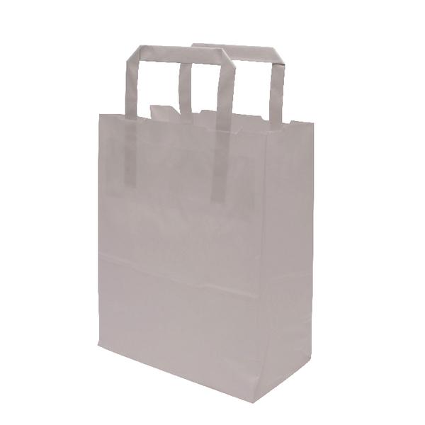 MyCafe Kraft SOS Carriers Internal Handles 175x95x215mm White (500 Pack) 304701
