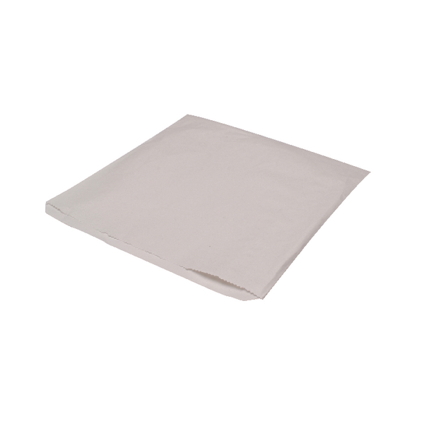 MyCafe Sulphite Bags Strung 250x250mm White (1000 Pack) 201110S
