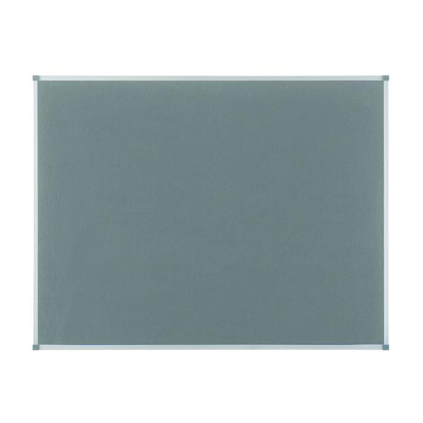 Felt Nobo Classic Grey Felt noticeboard, 900 x 600mm