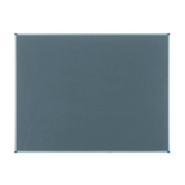 Felt Nobo Classic Grey Felt noticeboard, 1200 x 900mm