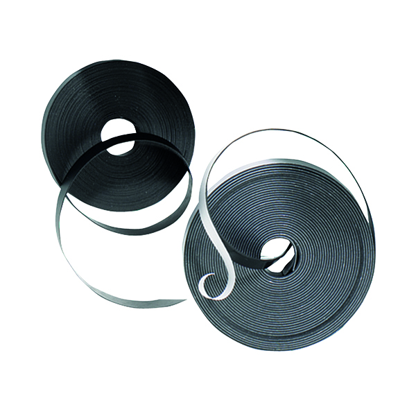 Chalk Markers Nobo Magnetic Self-Adhesive Tape 10mmx10m Black 1901053