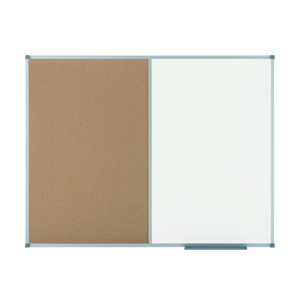 Cork Nobo Classic Combination Cork Drywipe Board 900 x 600mm 1901587