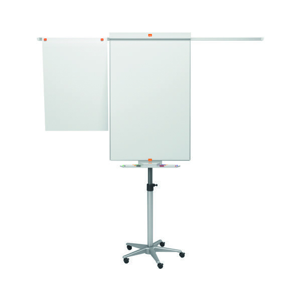 Unspecified Nobo Piranha Mobile Flipchart/Drywipe Easel Blue/Silver 1901920