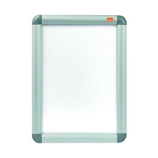 Certificate / Photo Frames Nobo Aluminium Clip Frame A4 Silver 1902214