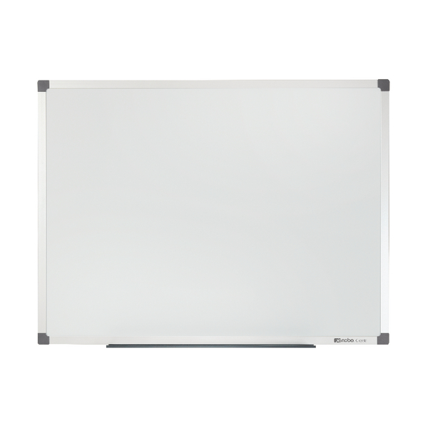 Magnetic Nobo Classic Magnetic Painted Steel Whiteboard 900x600mm 1902642