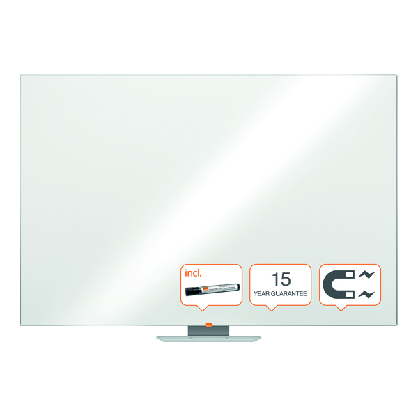 Magnetic Nobo Classic Magnetic Steel Whiteboard 1800x1200mm 1902648
