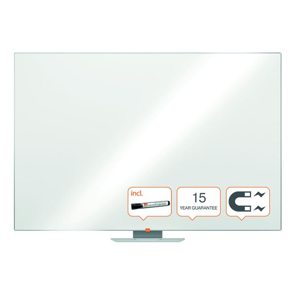 Nobo Classic Magnetic Steel Whiteboard 1800x1200mm 1902648