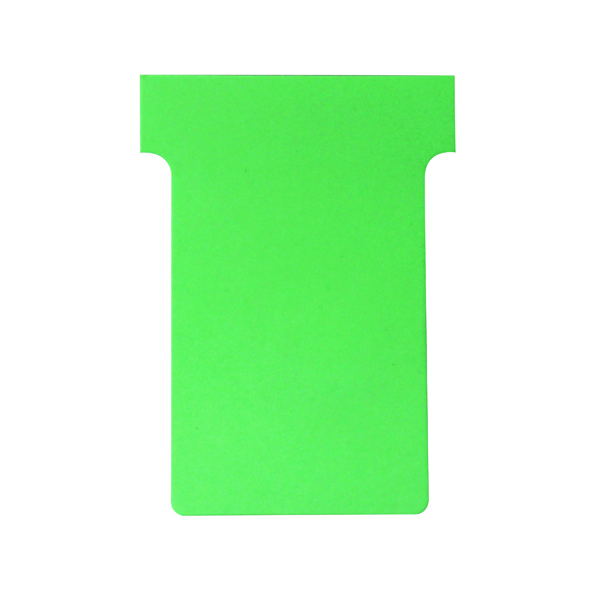 A80 Nobo T-Card Size 2 48 x 85mm Light Green (100 Pack) 32938902