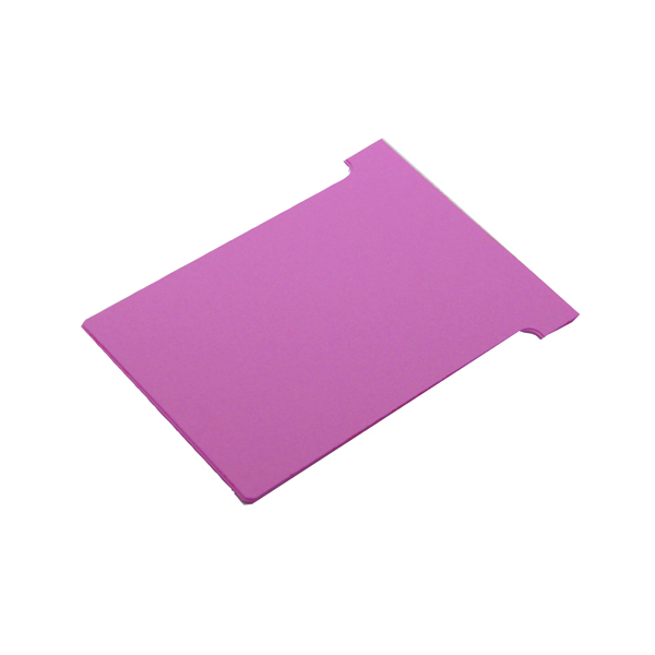 A80 Nobo T-Card Size 2 48 x 85mm Pink (100 Pack) 32938905