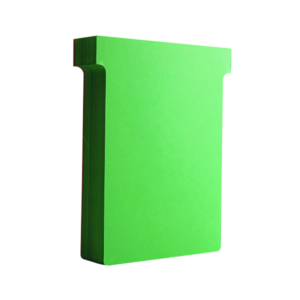 Size 3 Nobo T-Card Size 3 80 x 120mm Light Green (100 Pack) 32938913