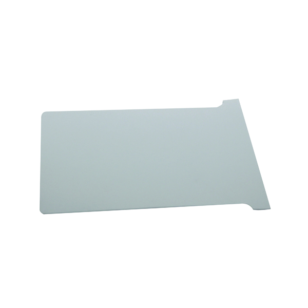 Size 4 Nobo T-Card Size 4 112 x 180mm White (100 Pack) 2004002