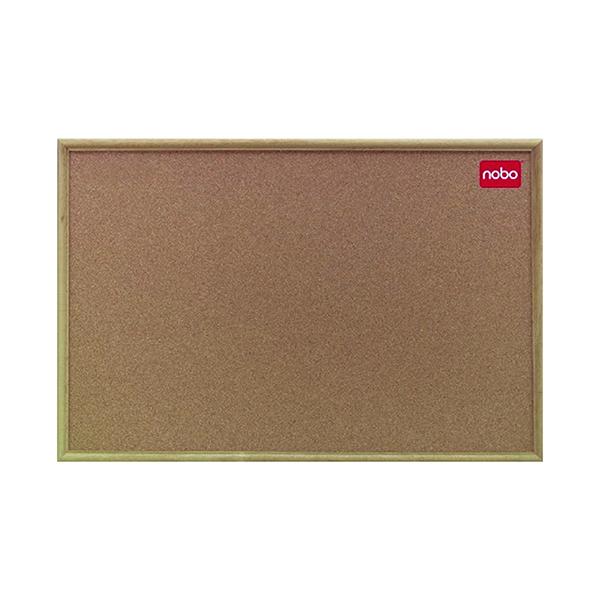 Nobo Classic Cork noticeboard, 1800 x 1200mm