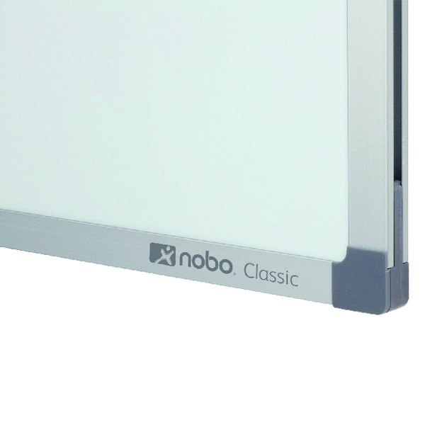 Non-Magnetic Nobo Classic Nano Clean Whiteboard 2400x1200mm 1903912