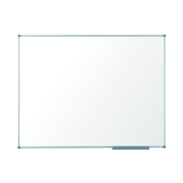 Magnetic Nobo Basic Steel Magnetic Whiteboard 900 x 600mm 1905210