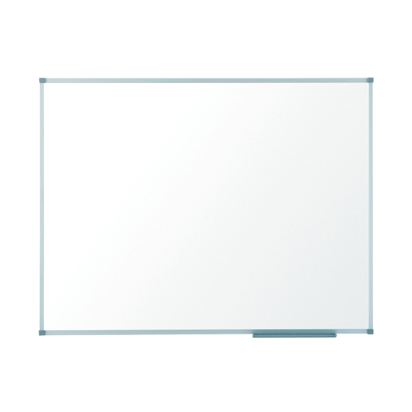 Magnetic Nobo Basic Steel Magnetic Whiteboard 1200 x 900mm 1905211