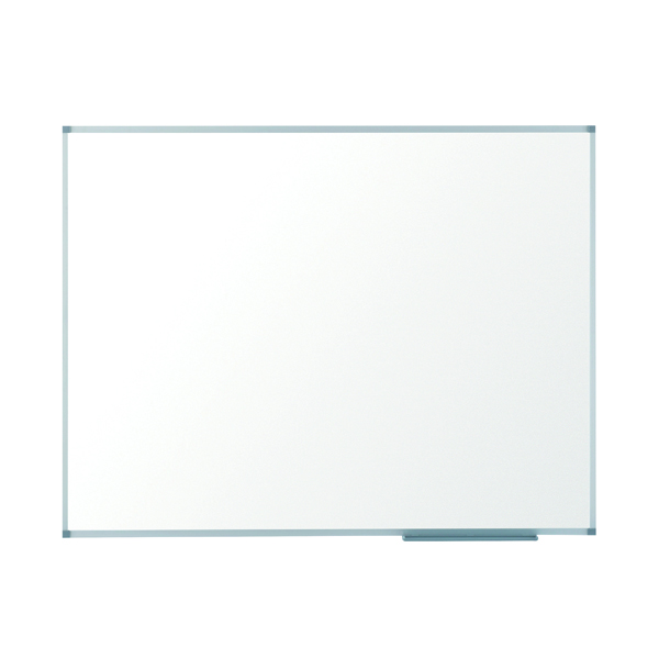 Magnetic Nobo Basic Steel Magnetic Whiteboard 2400 x 1200mm 1905214