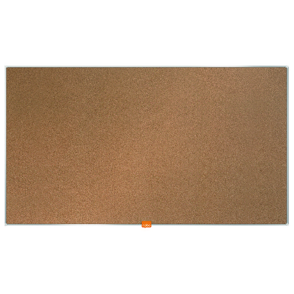"Cork Nobo Widescreen 40"" Cork Noticeboard, 890 x 500mm"