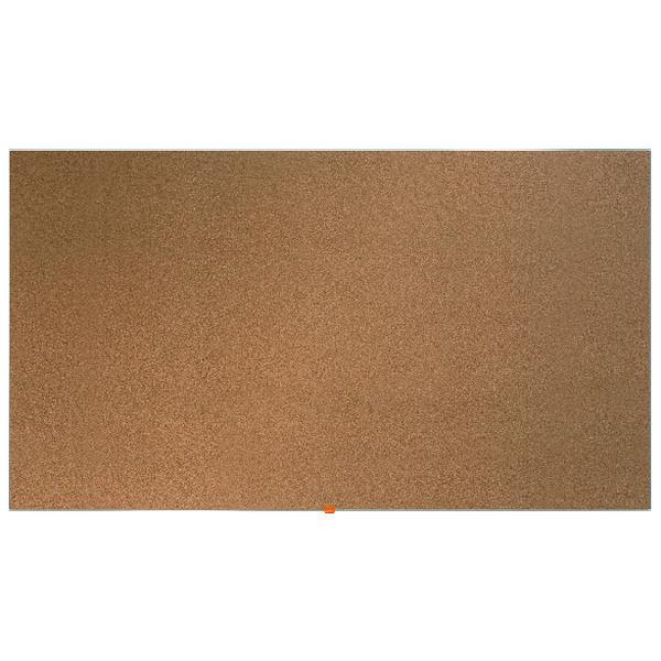 """Nobo Widescreen 85"""" Cork Noticeboard, 1880 x 1060mm"""