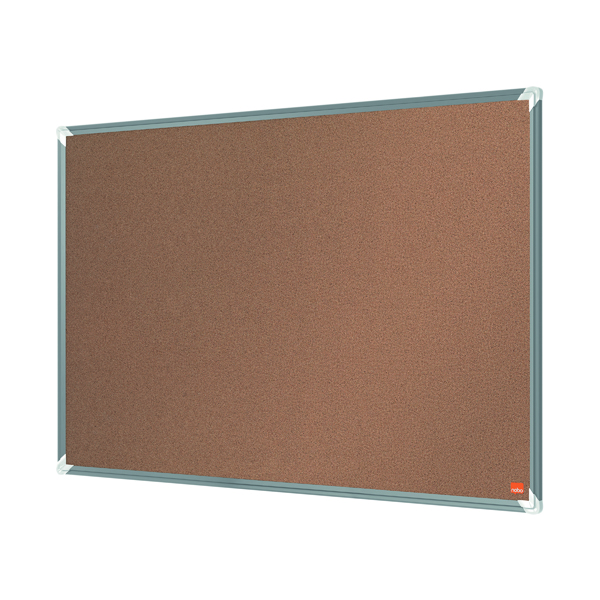 Cork Nobo Premium Plus Cork Notice Board 900 x 600mm 1915180